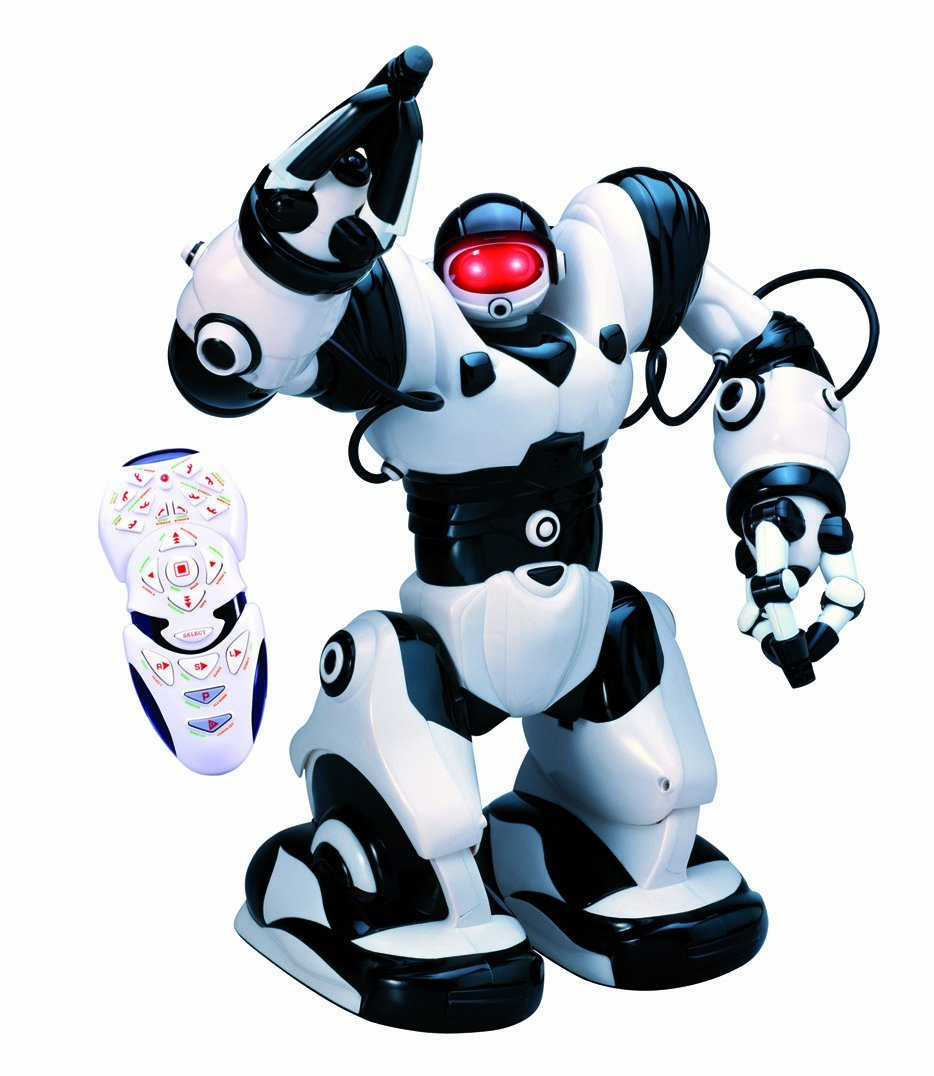 Toys For Robots : Wowwee robosapien humanoid toy robot review stockpile